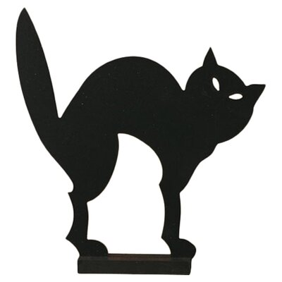 Oddity Inc. Wood Cat Silhouette