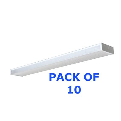 Wrap Fluorescent Fixture (Set of 10)