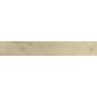 "Samson Tile Urban 6"" x 36"" Matte Floor Tile in Beige (Box of 9)"