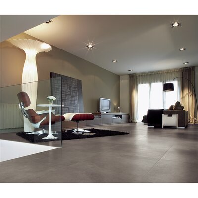 "Samson Tile Genesis Loft 12"" x 24"" Matte Floor and Wall Tile in Mineral (Box of 6)"