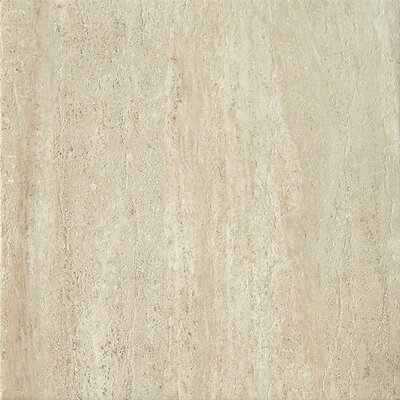 "Samson Tile Travertini 16.75"" x 16.75"" Floor and Wall Tile in Beige (Box of 7)"