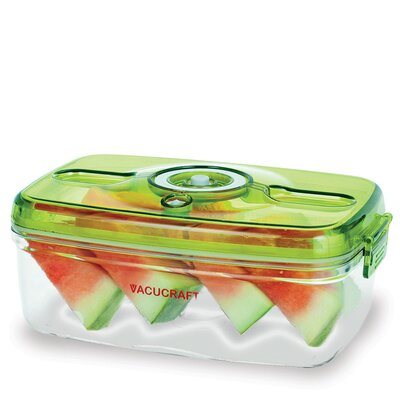 Vacucraft Versatile Vacuum 5-Piece Food Container Set