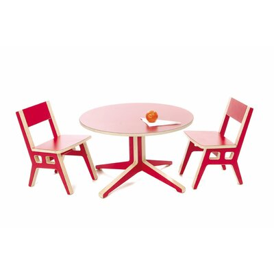 Context Furniture Truss Kids Table and Chair Set