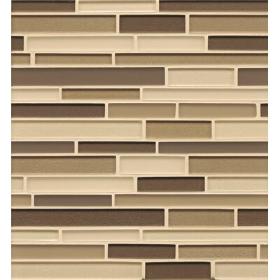 Bedrosians Random Sized Mosaic Interlocking Blends Tile in Plaza