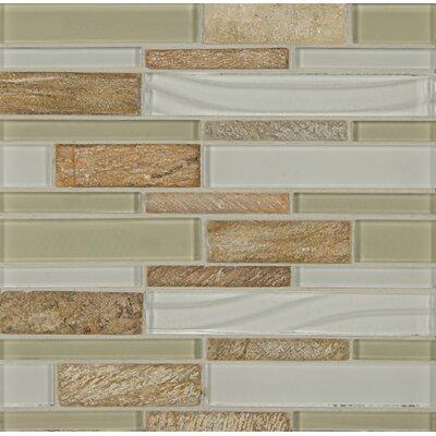 Random Sized Stone Mosaic Linear Tile in Boarwalk