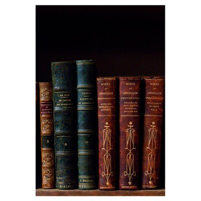 Epic Art The Scholar's Shelf Books II Wall Art