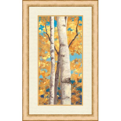 Autumn Cream I Framed Painting Print