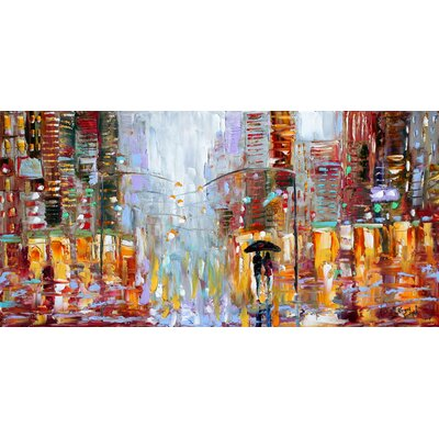 'Grey Day' by Karen Tarlton Painting Print on Canvas