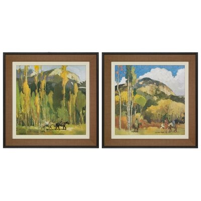 Francis Livingston Series Framed Painting Prints