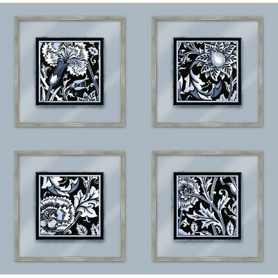 Floral Motif I Framed Graphic Art