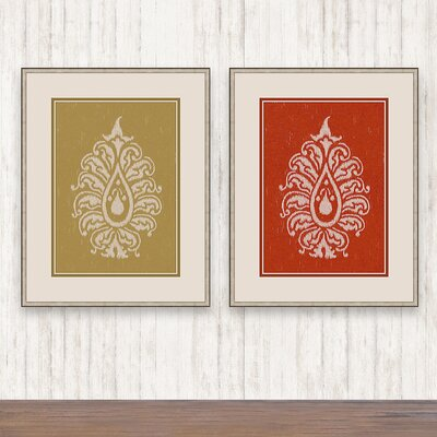 Paisley Wall Art Set