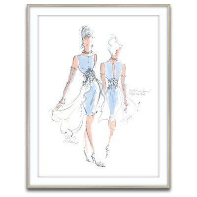 Haute Couture Framed Graphic Art
