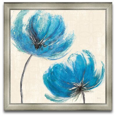 Epic Art Flora Moderna Azure III Wall Art