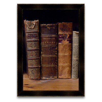 Epic Art The Scholar's Shelf Books III Wall Art