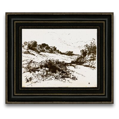 Epic Art Sepia Landscape IV Wall Art