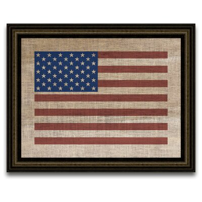 Epic Art The Vintage Patriot American Flag Wall Art