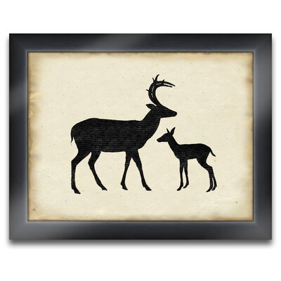 2 Deer Wall Art