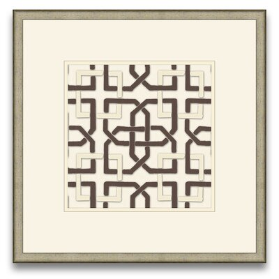 Epic Art Euclid's Charm Felt Interlocking IV Wall Art
