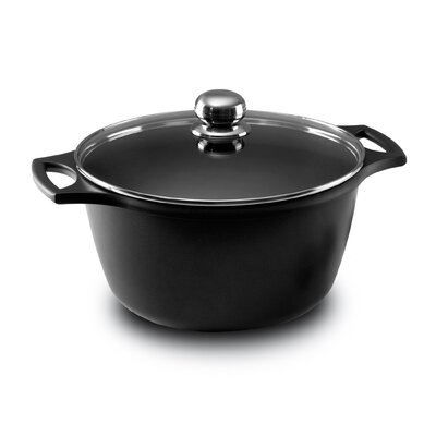 5.25-qt. Aluminum Round Sauce Pot with Lid