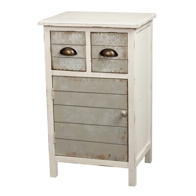 Gallerie Decor Dover 2 Drawer Accent Cabinet