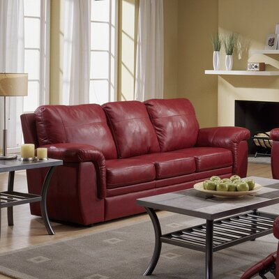 Palliser Furniture Brunswick Leather Sleeper Sofa