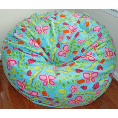Earth Day Anti-Pill Fleece Bean Bag Chair
