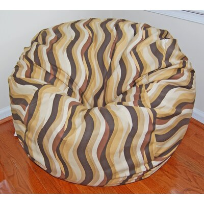 Wavelength Cotton Bean Bag Chair