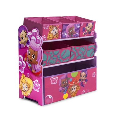 Bubble Guppies Multi Bin Storage Organizer