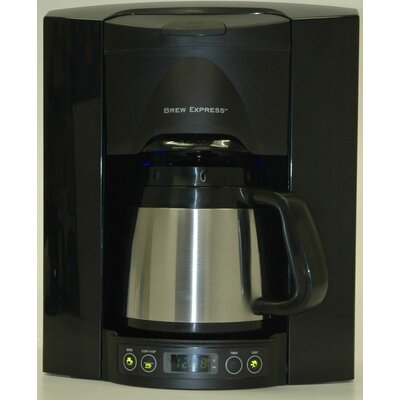 Brew Express 4 Cup Built-In Self-Filling Coffee and Hot Beverage System