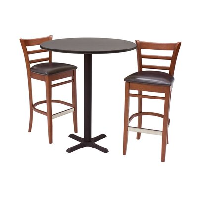 Regency Zoe 3 Piece Pub Table Set