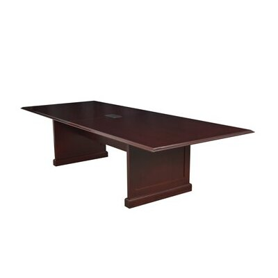 Regency Prestige Traditional Veneer Rectangular Conference Table in Mahogany