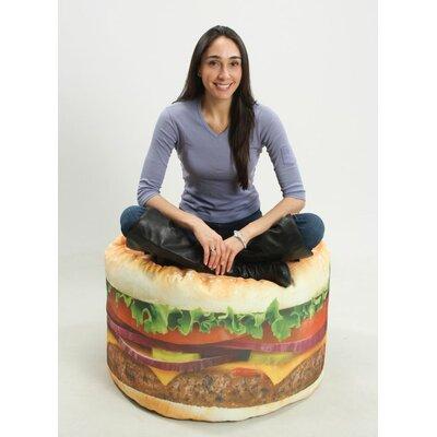 Wow Works Llc Hamburger Adult Bean Bag Chair Amp Reviews