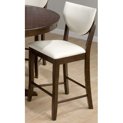 Jofran Satin Barstool in Walnut