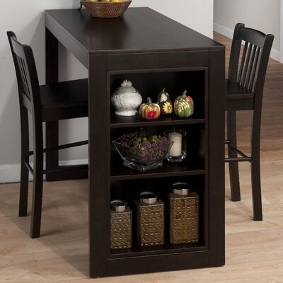 Jofran Maryland Merlot Counter Height Pub Table Set