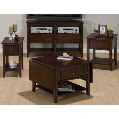 Double Header Coffee Table Set