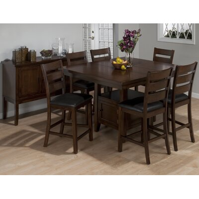 Jofran Taylor 7 Piece Counter Height Dining Set