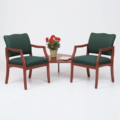 Lesro Franklin Two Chairs with Connecting Corner Table