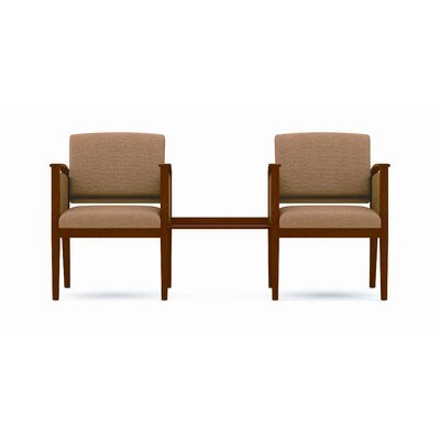 Lesro Amherst Two Chairs with Connecting Center Table