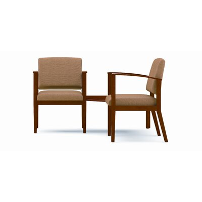 Lesro Amherst Two Chairs with Connecting Corner Table