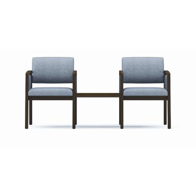 Lesro Lenox Two Chairs with Connecting Center Table