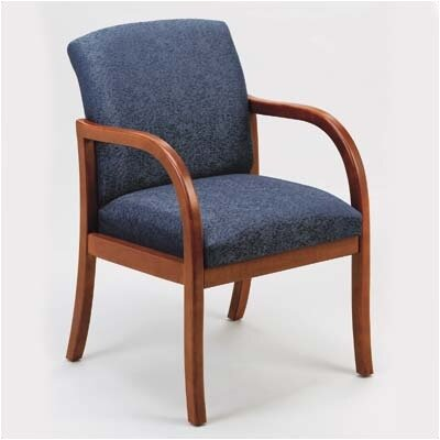 Lesro Weston Guest Chair with Wood Leg