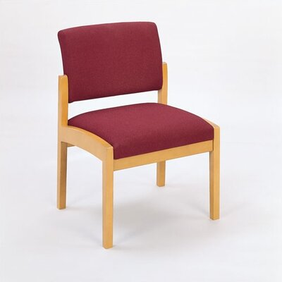 Lesro Lenox Guest Chair with Wood Leg
