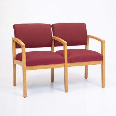 Lesro Lenox Two Seats with Wood Leg
