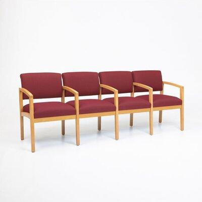 Lesro Lenox Four Seats with Wood Leg