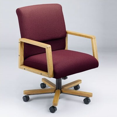 Lesro Bristol Series Low-Back Office Chair with Arms