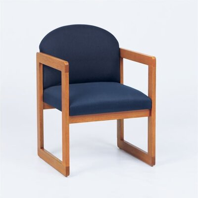 Lesro Classic Guest Chair With Armless Sled Base
