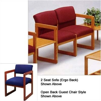 Lesro Classic Two Seats with Open Back