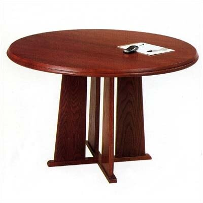 Lesro Contemporary Series  Round Gathering Table (Tapered Base)