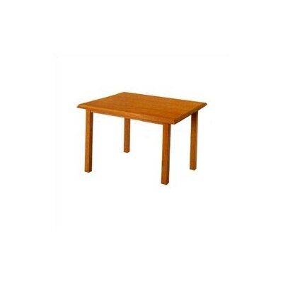 "Lesro Contemporary Series 48""  Rectangular Gathering Table (4 Post Base)"