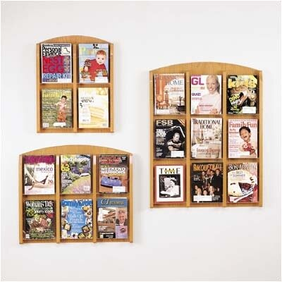 Lesro Contemporary Series Pocket Literature Rack